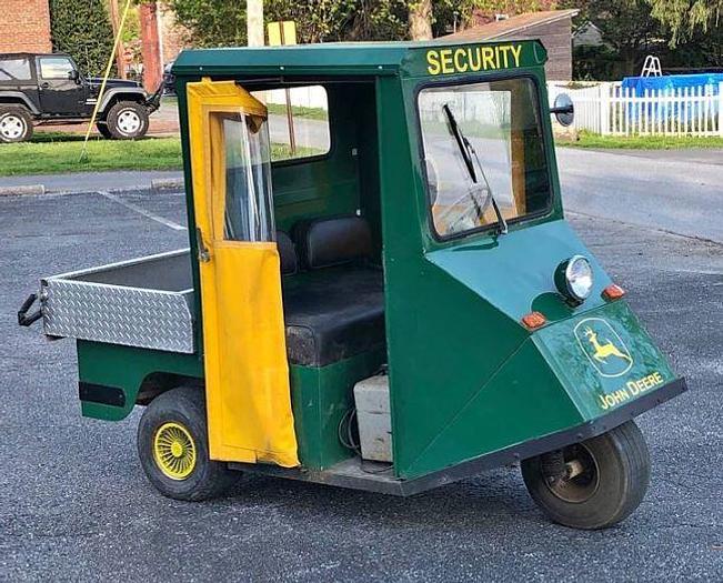 Used Cushman Electric Cart