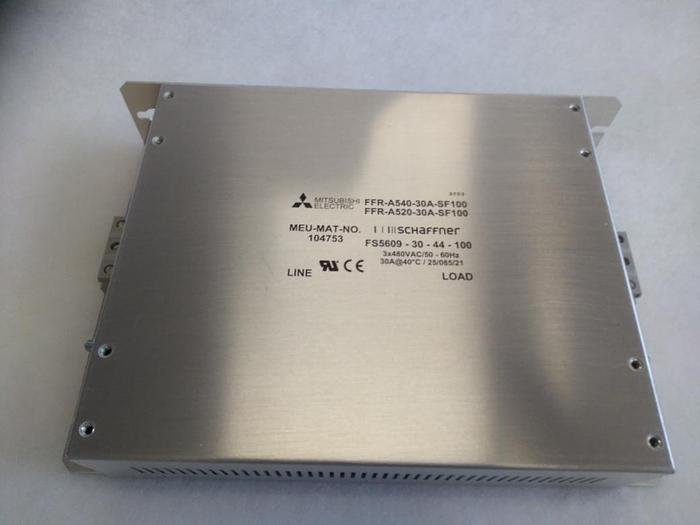 Stromfilter Schaffner FS5609-30-44-100 /FFR-A540-30A-SF100, Mitsubishi Electric,  neu