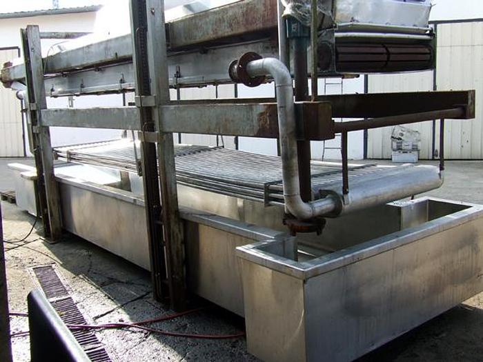 Używane Smażalnik taśmowy produkcji holenderskiej - NON