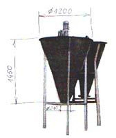 Używane Zbiornik z dozowaniem wyrównującym na linii między urządzeniami do warzyw