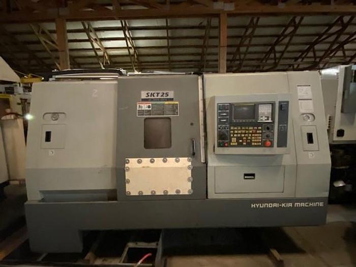 Used HYUNDIA-KIA SKT 25 CNC LATHE