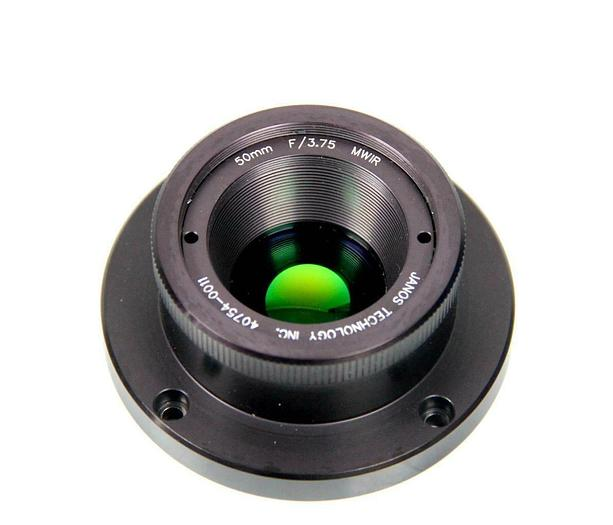 Used Janos Technology Lens 40754-0011 50mm F/3.75 MWIR (7130) R