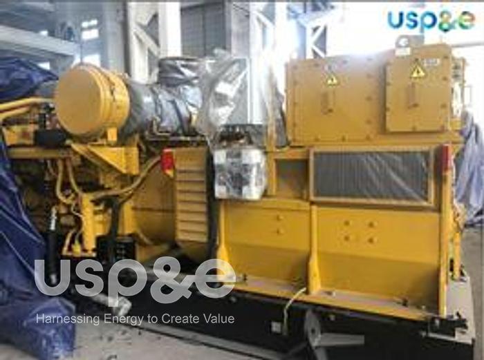 Used 12 MW 2015 New Caterpillar 3516C-HD Diesel Generator