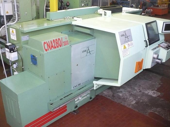 As new Tornio ad Autoapprendimento OMG ZANOLETTI CNA 280/2000