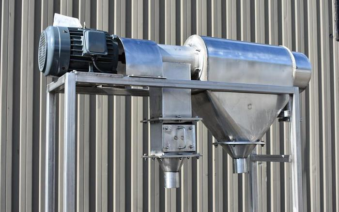 USED CENTRIFUGAL ROTARY SCREEN, STAINLESS STEEL