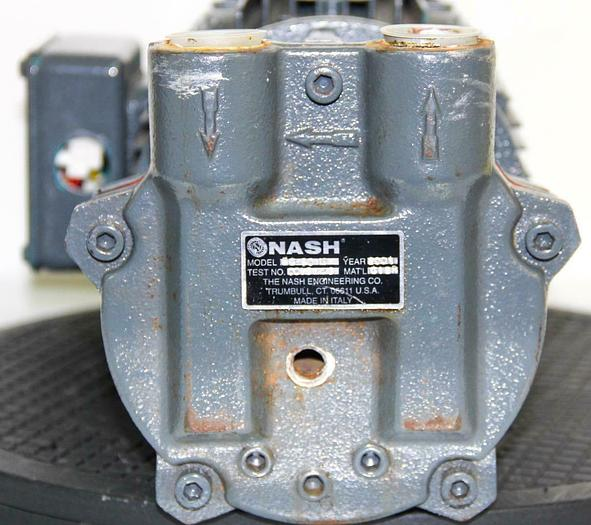Used Nash Engineering EC-50M Pump 3HP 230/460V W/ Brook Crompton Motor (7790)W