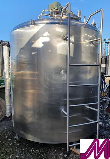 Used WCB 7,500 Litre Stainless Steel Jacketed and Agitated Tanks