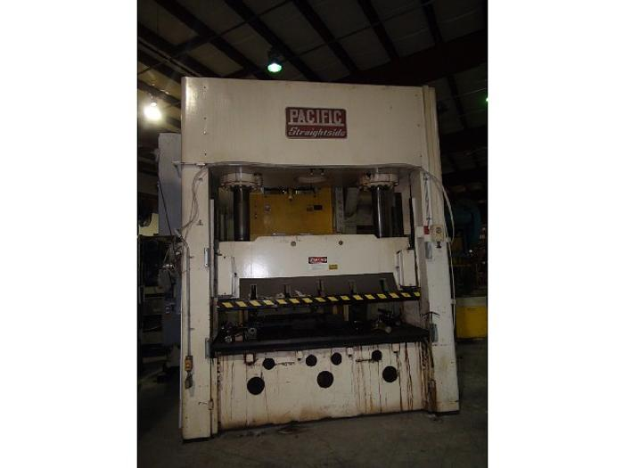 "300 ton Pacific 92""x42"" Used Hydraulic Stamping Press"