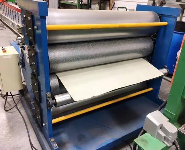 "48"" Aluminum and Steel Strip Embosser: EM-072"