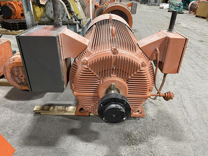Used 1000 HP A$D INDUCTION MOTOR ADJUSTABLE SPEED 1790 RPM