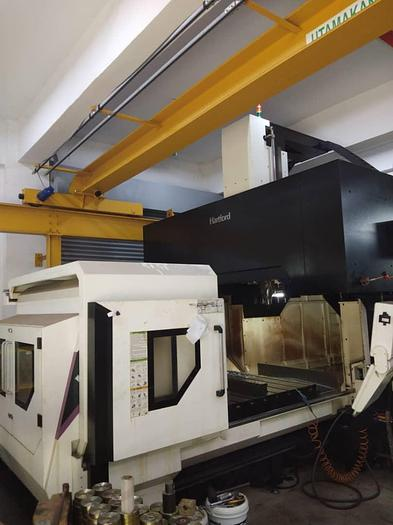 Used 2016 HARTFORD SW-216 DOUBLE COLUMN MACHINING CENTER