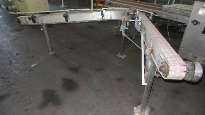 90 degree Table Top Chain Conveyor #2330