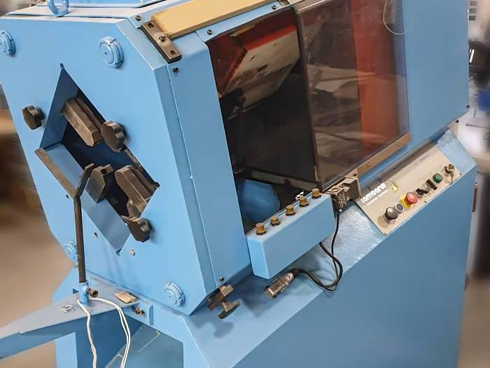 Used Lombardi LH 33 label punching machine (1992)