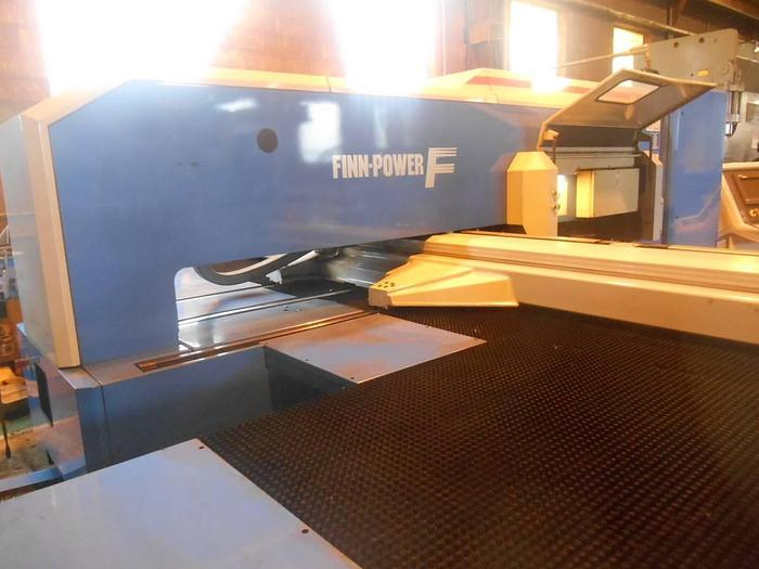 Used CNC 33 Ton Turret Punch Finn Power - like Amada, Strippit, Trumpf