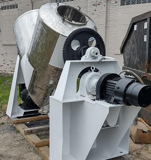Used Patterson Kelley  30 cuft Twin Shell blender SS
