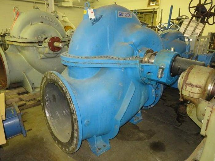 Used AHLSTROM SULZER ZPP51-600 FAN PUMP 316 S/S