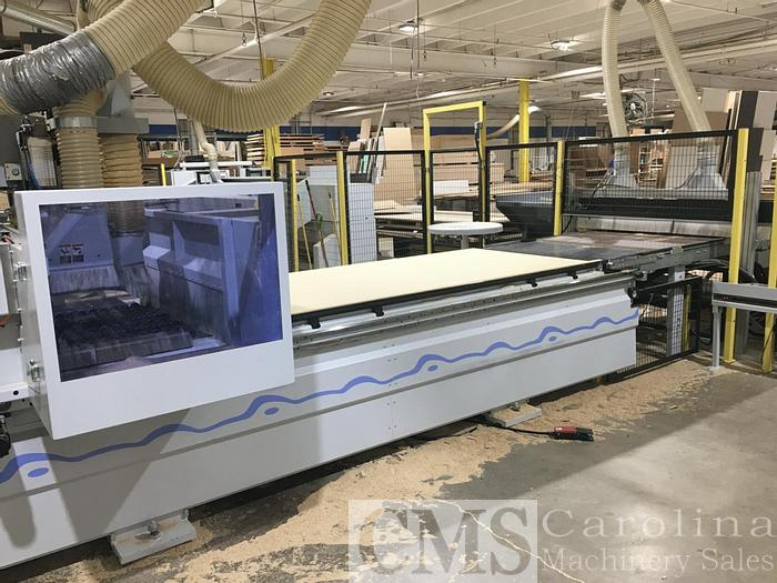 Used Weeke Vantech 480 with Infeed & Outfeed System