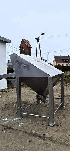 Used Lej zasypowy do pneumatycznego transportu produktów sypkich