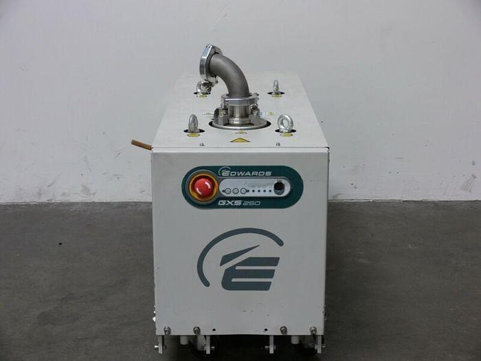 Used Edwards GXS 250 Dry Screw Vacuum Pump LV LD RE CA  Model GXS250F  147 CFM