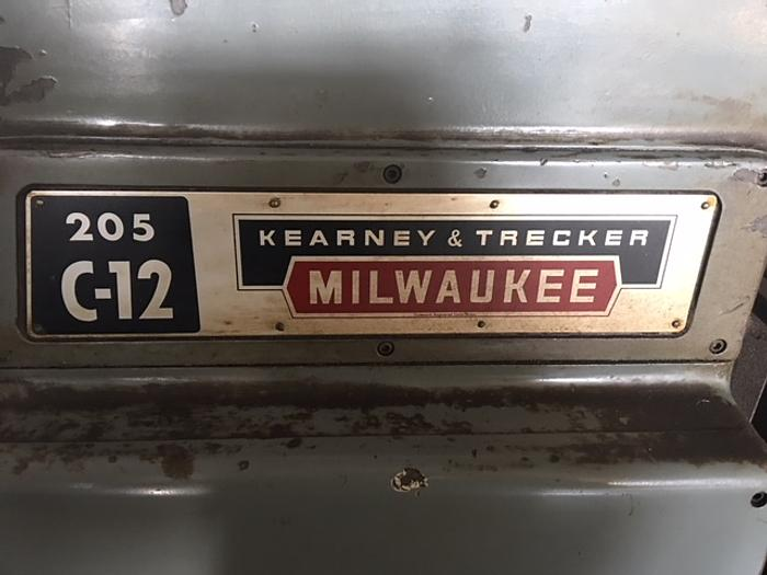 Kearney & Trecker (Very Good Condition) 205 C-12