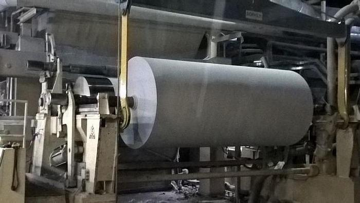 """Used 136"""" (3.45M) VOITH HORIZONTAL TRACK REEL 1200M/MIN"""