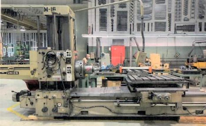 Used WMW UNION BFT 80/2 HORIZONTAL BORING MACHINE