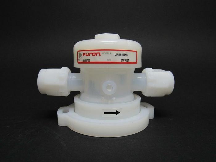 "Used Furon UPM2-888NC Series 1000 Diaphragm Valve 3/4"" ports 2-way  (3896)"