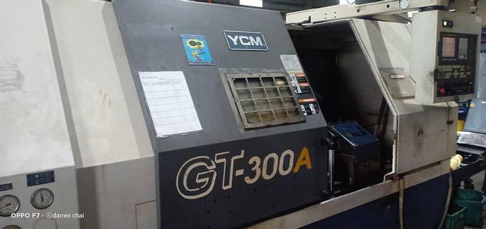 Used 2008 YCM GT-300A CNC TURNING LATHE MACHINE