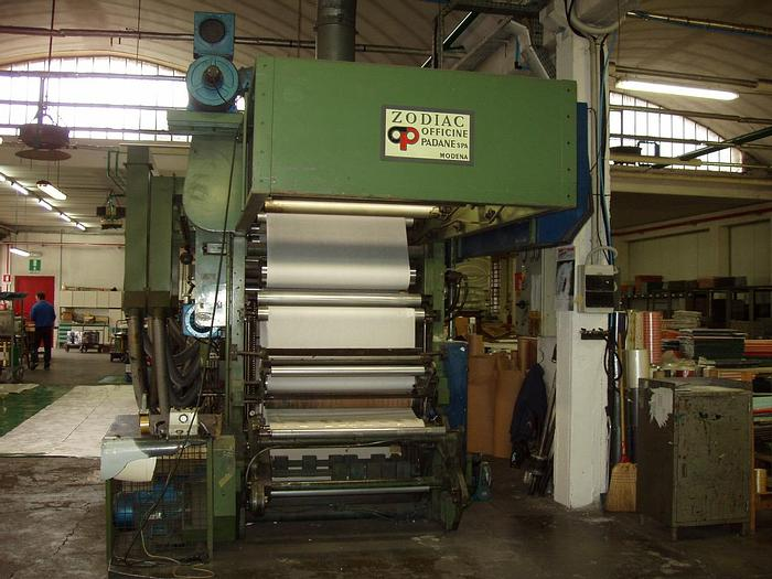 Used Schiavi Zodiac flexo printing machine
