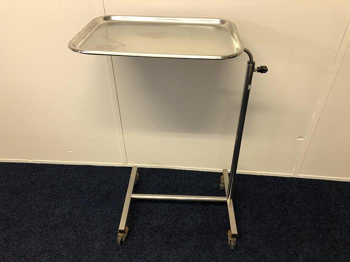 Mayo trolley stainless steel Bristol Maid