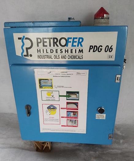 Gebraucht Kolbenschmieranlage, Pulverdosiergerät, PDG 06, Petrofer,  gebraucht