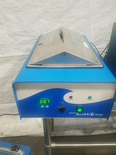 Used Oakton Stable Temp Water Bath Model 12501 20 Laboratory Control Bath