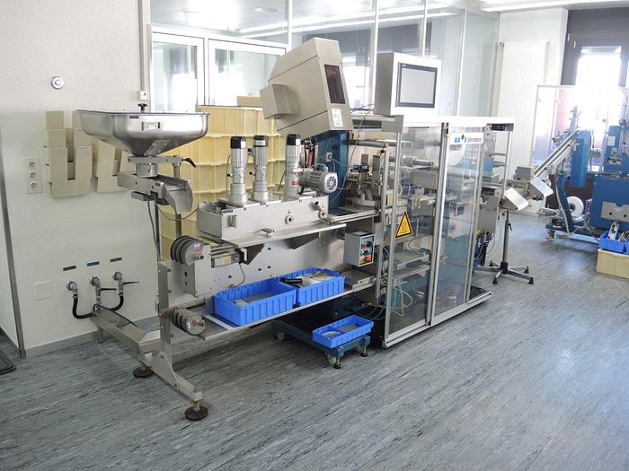 Used Uhlmann Pac Systeme GmbH and Co KG UPS 300 Blister Packaging