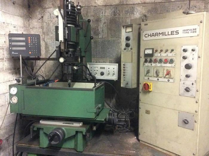 Charmilles EDM with IsoPulse Type P25 Control