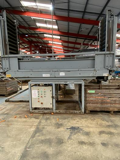 Used Double Herbert Box Filler with high to low lowerator