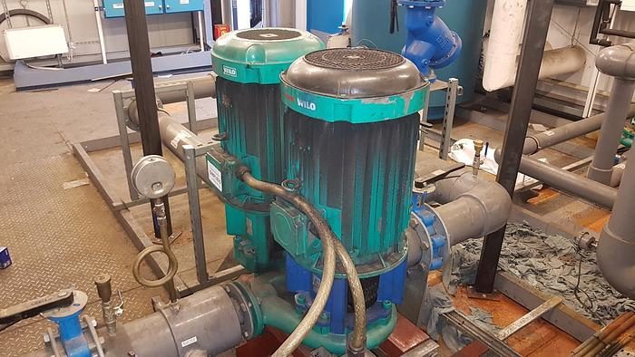Used 2004 WILO CronoTwin-DL 65/220-22/2 Centrifugal Pump (Double)