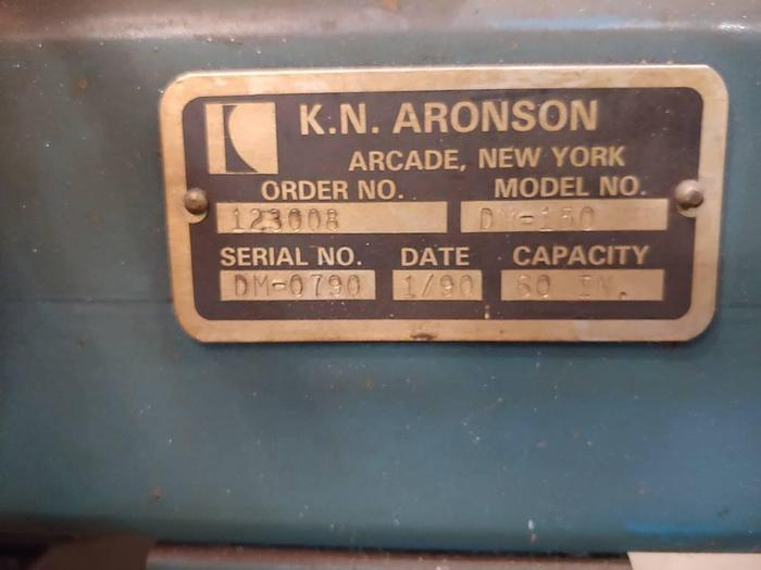 1990 K. N. Aronson model DM-150 DM-150