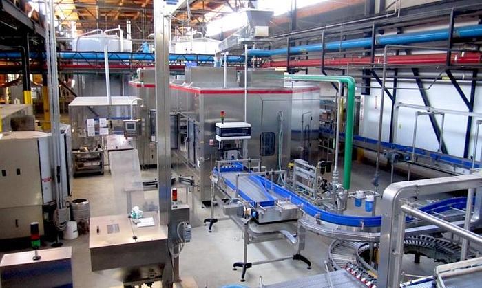 2007 Complete Carbonated Beverage Bottling Line