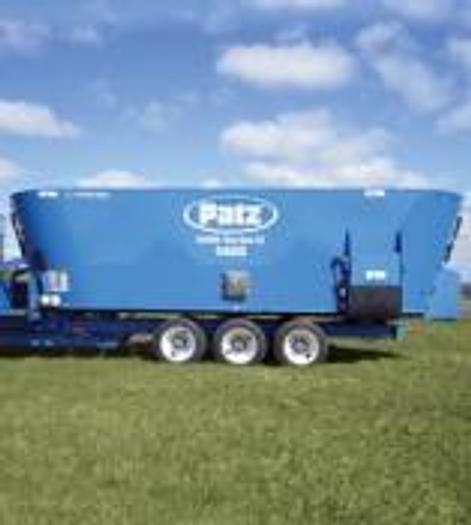 New - products PATZ Vertical TMR Mixer