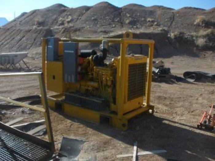 1984 Caterpiller 105 KW Skid Mounted Diesel Generator