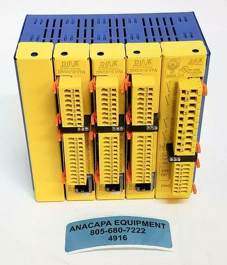 Used DINA Elektronik DNDS1EV7A DNDS PMG with Metal Housing LOT of 4 (4916)