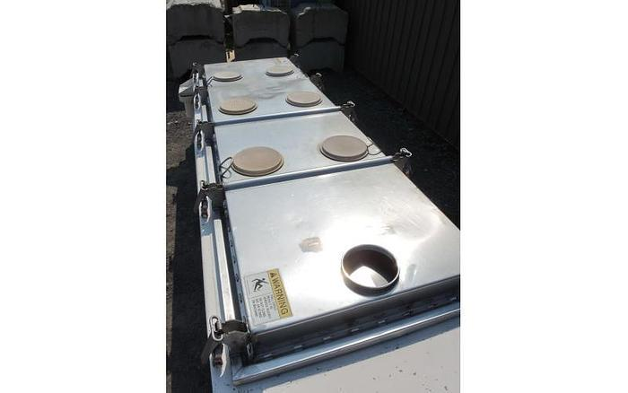 """USED ROTEX RECTANGULAR SCREEN, 40"""" X 120"""", SINGLE DECK, STAINLESS STEEL, SANITARY"""