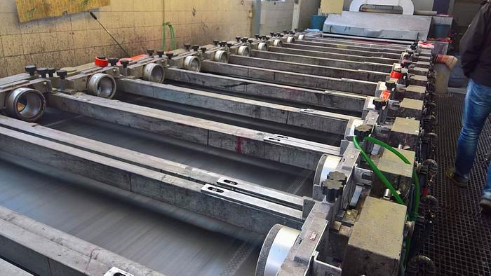 Rotary Printing BUSER 1800 mm 1990 - 2016