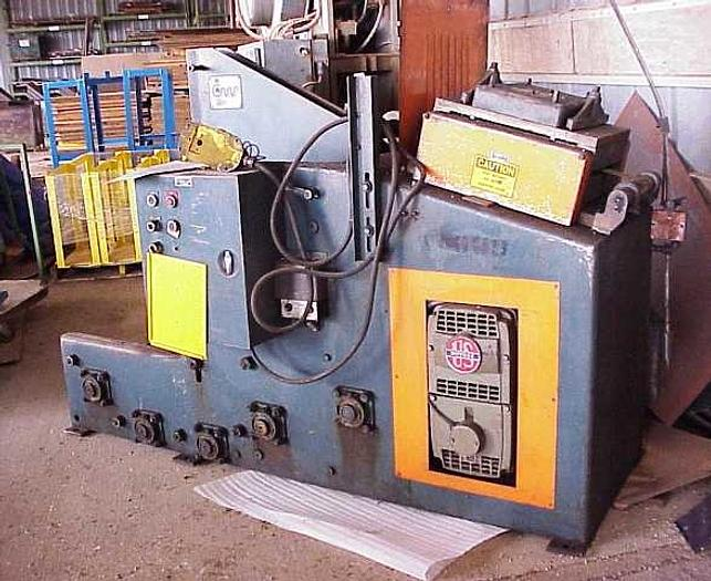 5000 Lb., CWP, No. CWP12BCS, 7- Roll Straightener
