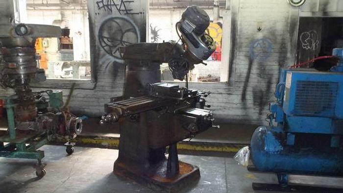 Used Bridgeport vertical milling machine MN 4774 s/n J36850