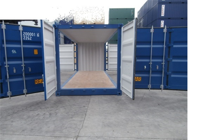 """20 'Container 8'6 """"Both sides Open"""
