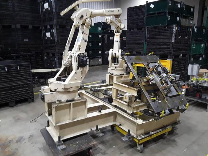 Used 1999 MOTOMAN YR-SK16-J00 ROBOTIC ARM & CONTROLLER  YR-SK16-J00