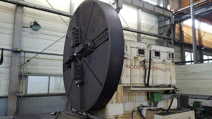 Used Lathe Heavy Duty CNC Mackintosh Hemphill Co.