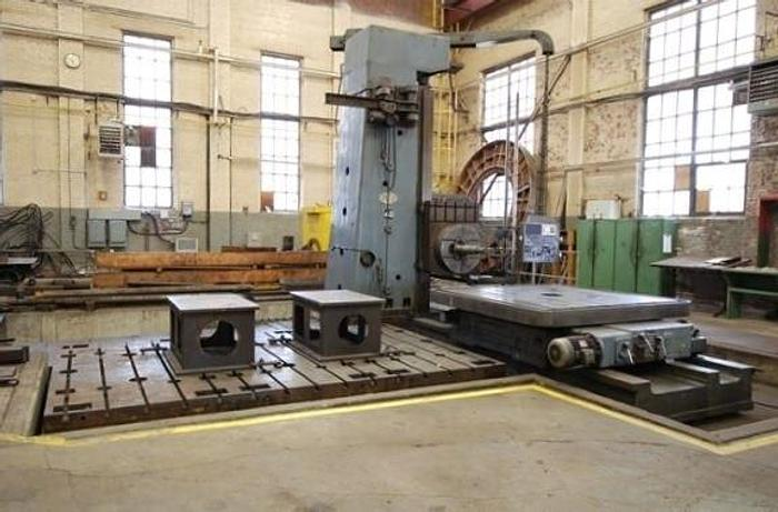 "Used ASQUITH FB 6"" MANUAL FLOOR TYPE BORING MILL"