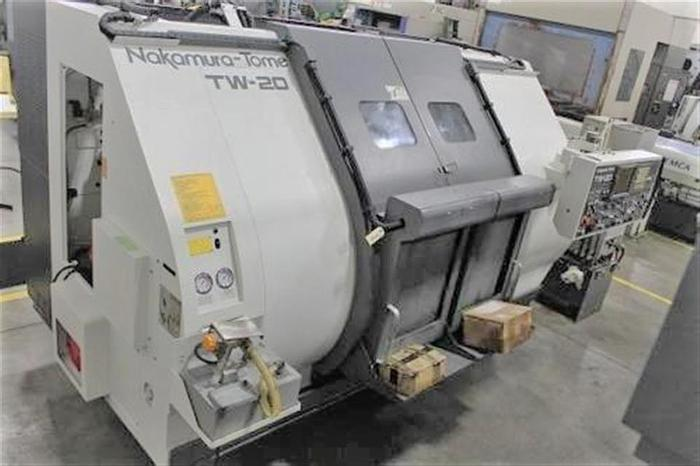 Used 2003 Nakamura Tome TW-20MMY